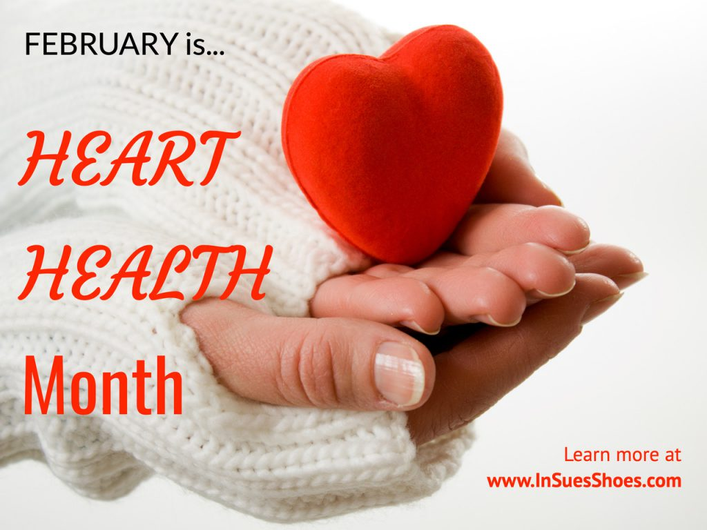 Heart Health Month In Sue's Shoes